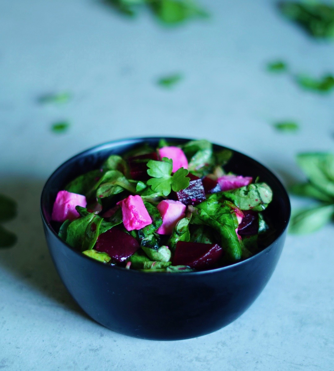 Rote Bete Salat mit Feta